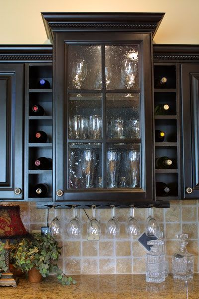Combination Wine Rack-Stemware Rack from \
