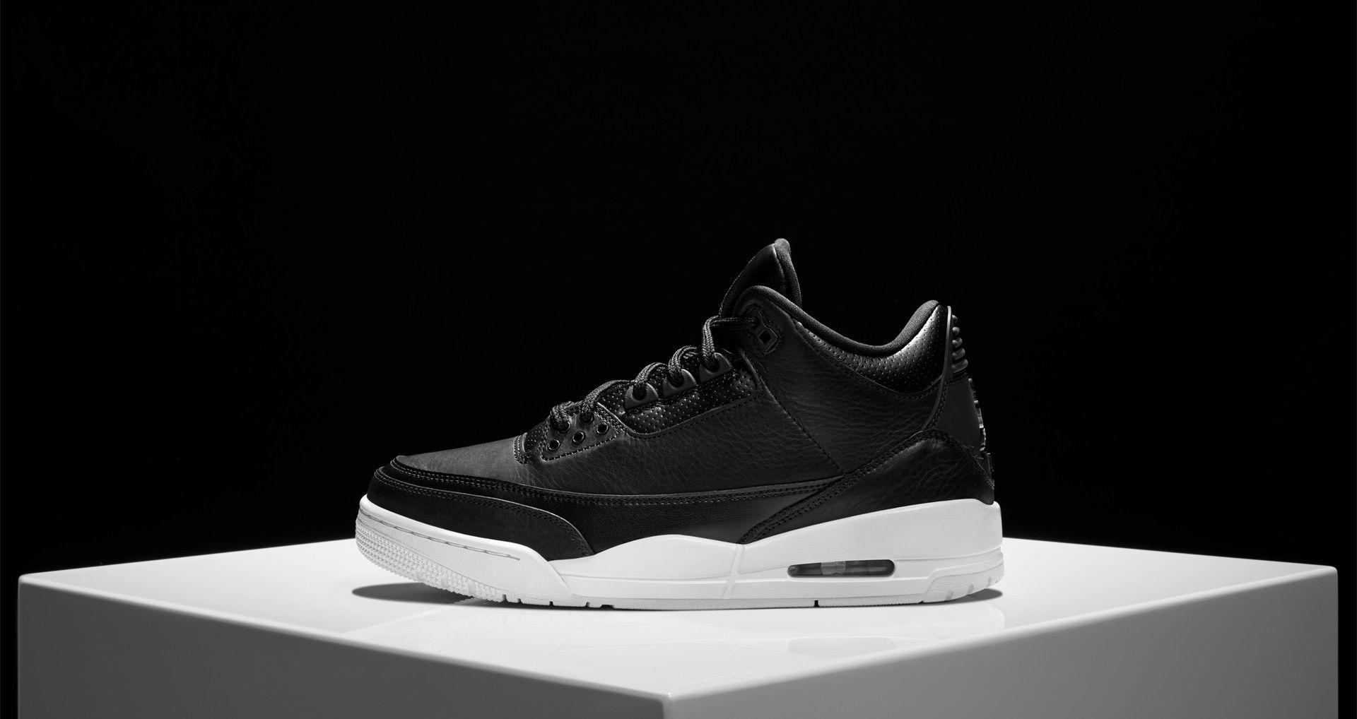 on sale 6b560 a6c87 October 15, 2016 Air Jordan III Retro Black   White  Nike  Inside  Sneakers