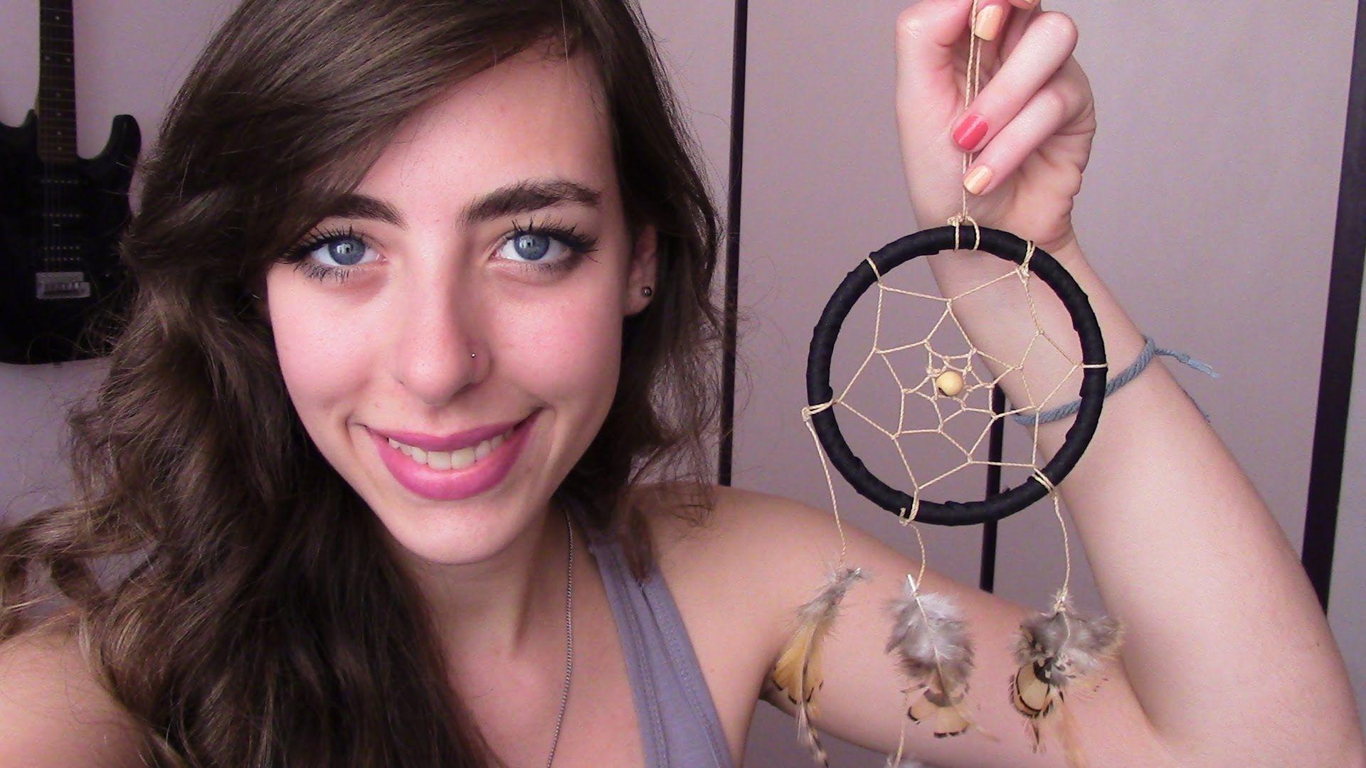 DIY - Como fazer um Dream Catcher ou Filtro de Sonhos