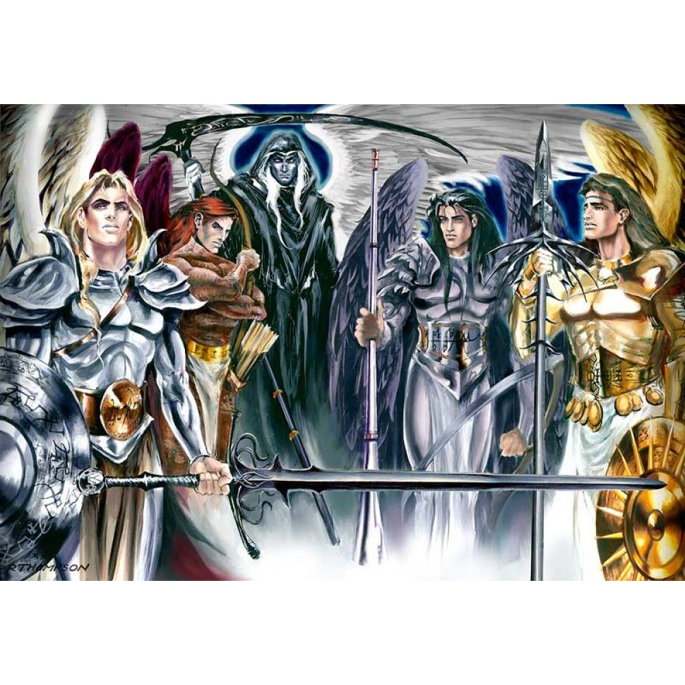 """The Five Archangels"" By Ruth Thompson"