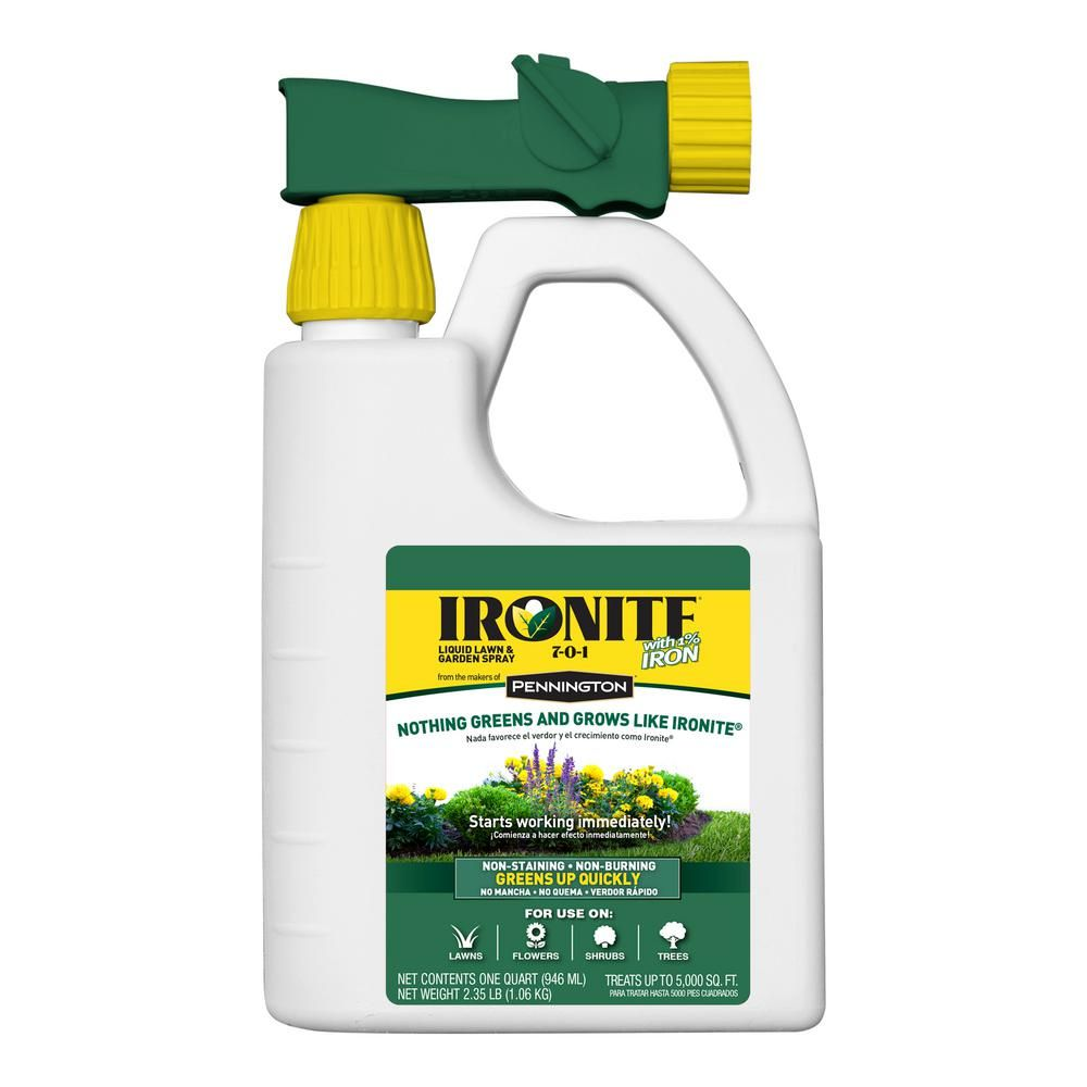Ironite Plus 32 Oz Liquid Lawn And Garden Fertilizer 100525937 Lawn Garden Organic Gardening Lawn