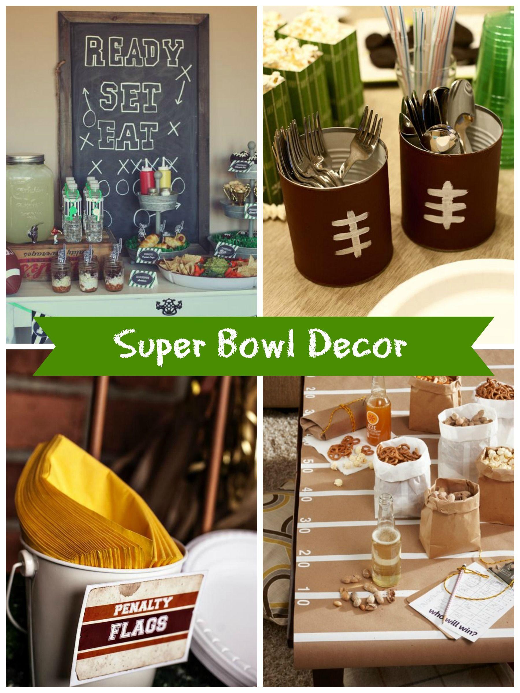 Bowl Decorating Ideas Super Bowl Sunday Diy Party Ideas  Diy Ideas  Pinterest  Diy