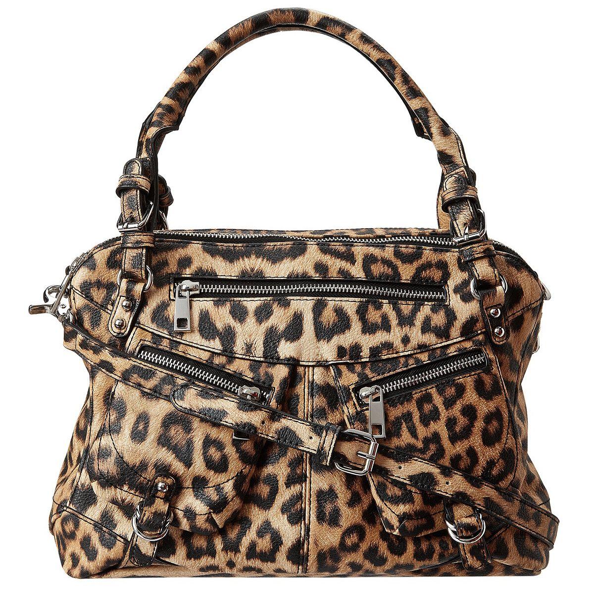 534c213527f8 Jessica Simpson Saskia Satchel Bag-Leopard - Price  74.99