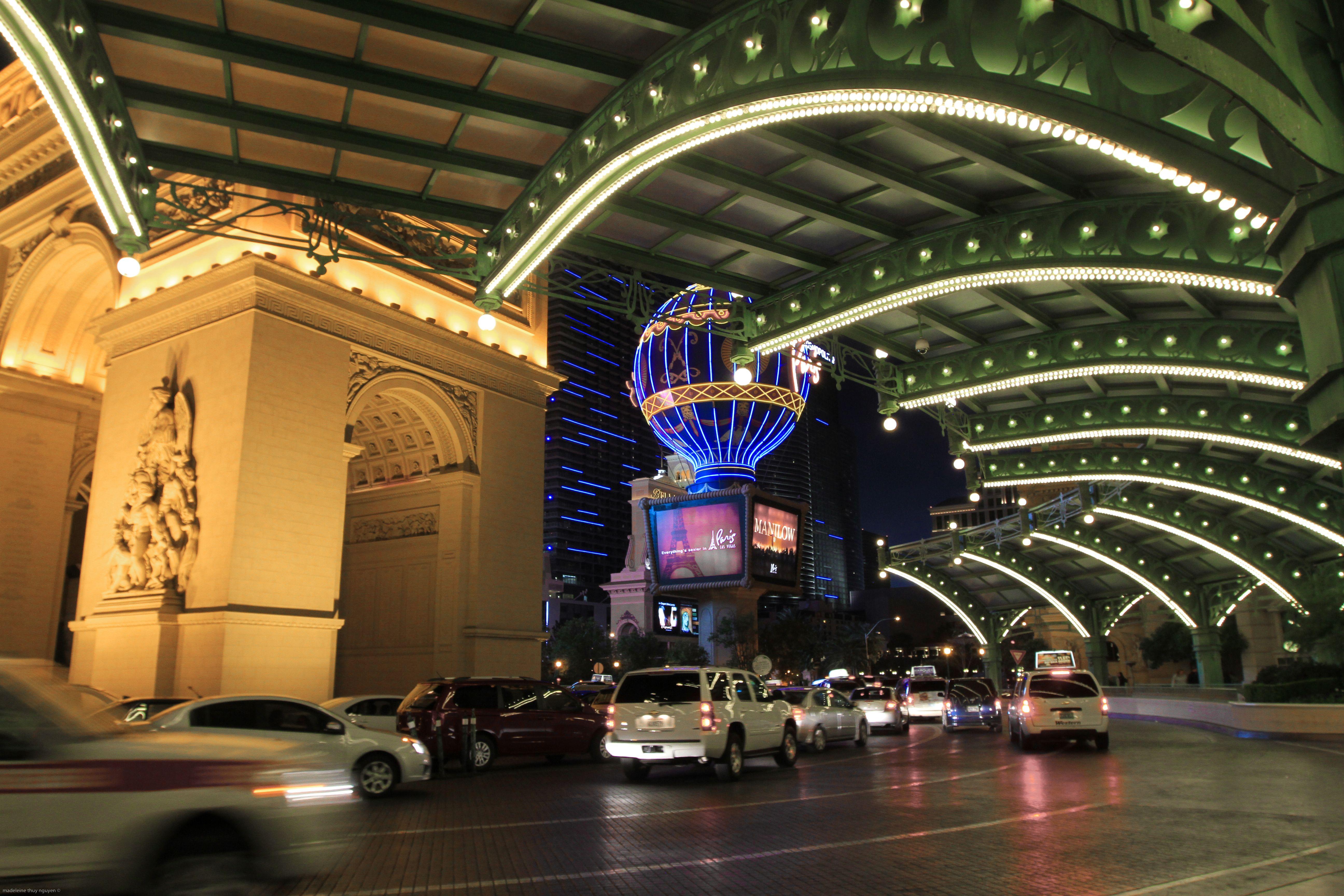 Entrance To The Paris Hotel Las Vegas