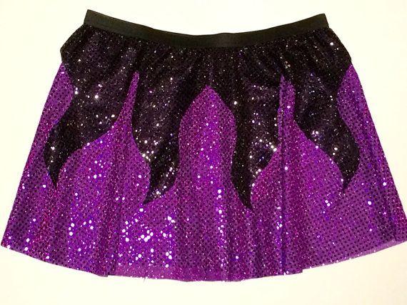 Ursula purple with black costumes Pinterest Disney races - black skirt halloween costume ideas