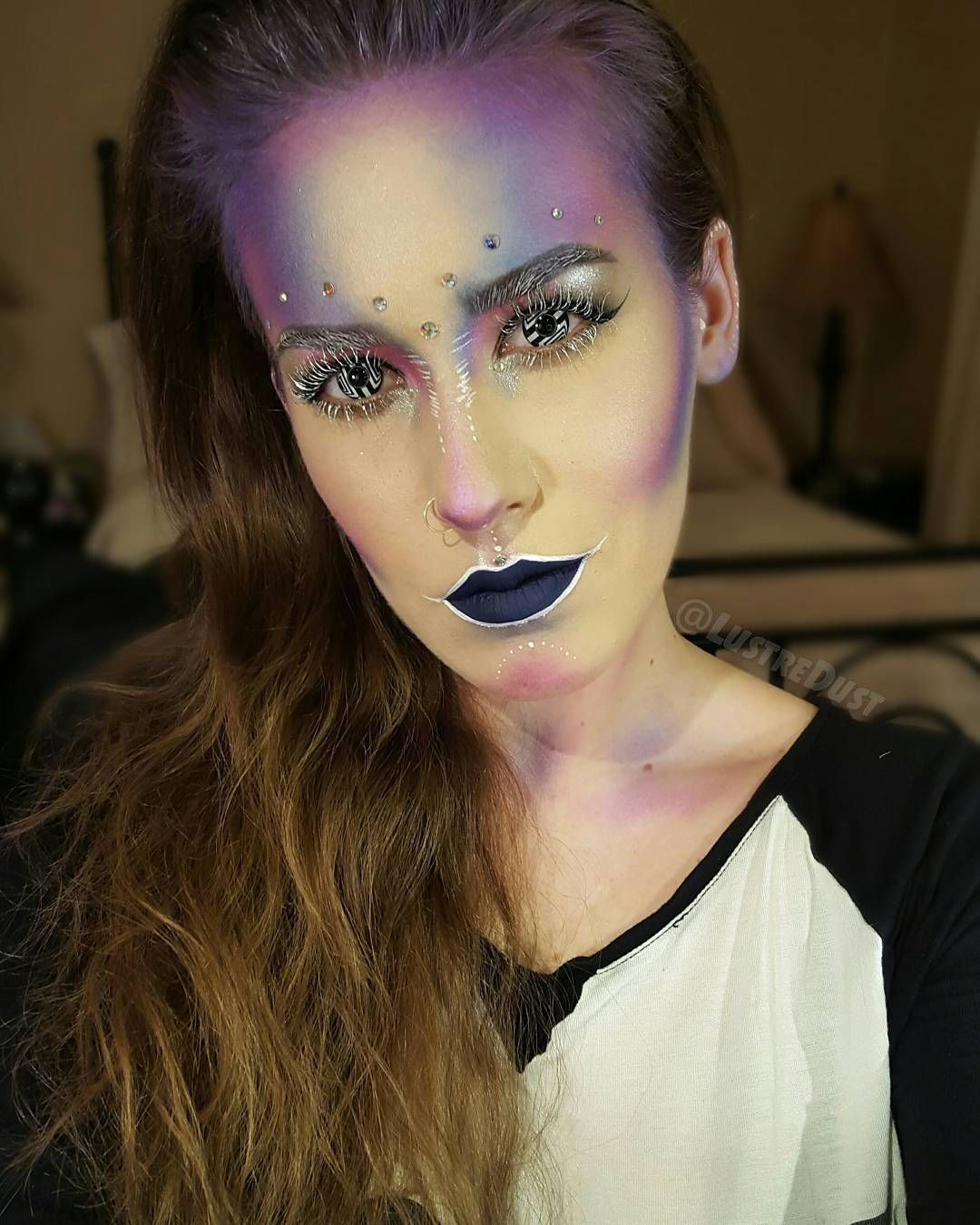 Day 1/100 days of makeup! Here's my first look for this