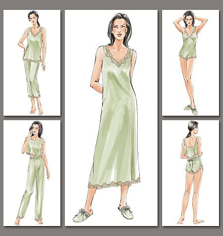 Misses\'/Misses\' Petite Camisole, Shorts, Teddy, Top, Nightgown ...