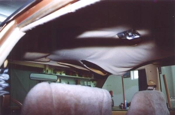 How To Fix A Car Interiors Falling Ceiling