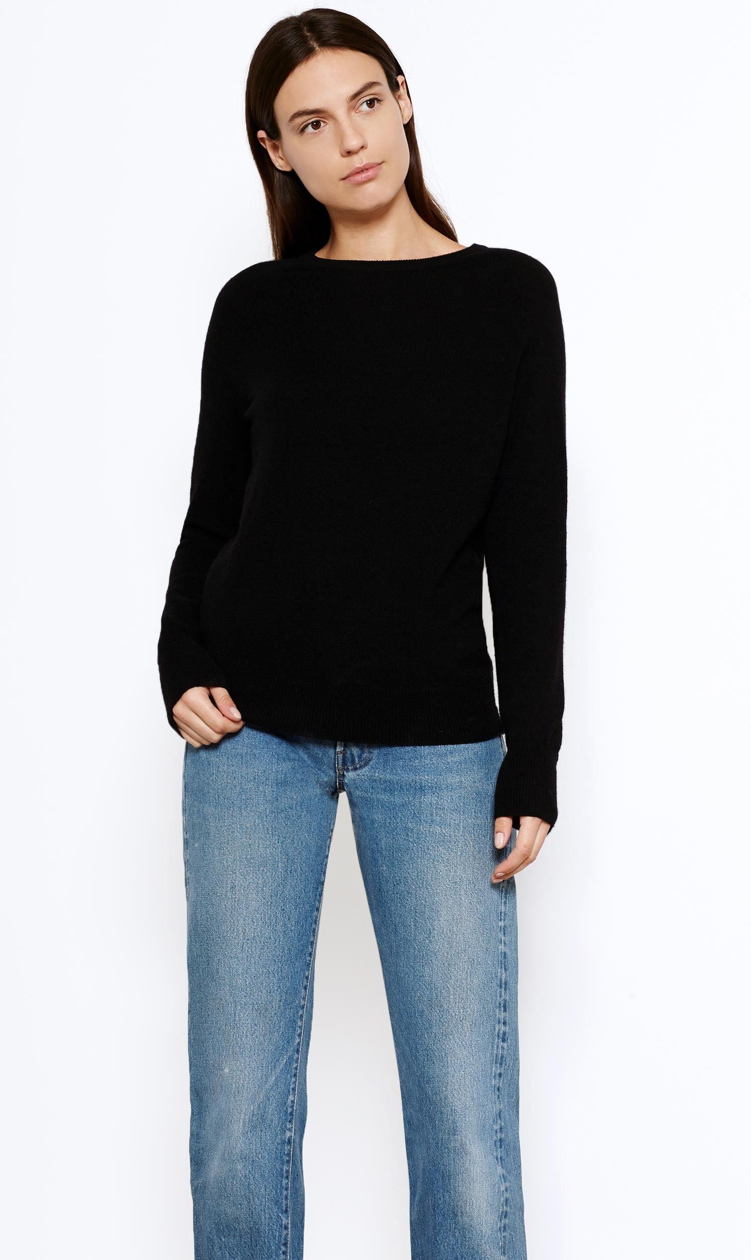 Sloane crew neck cashmere sweater | Cashmere sweaters, Cashmere ...