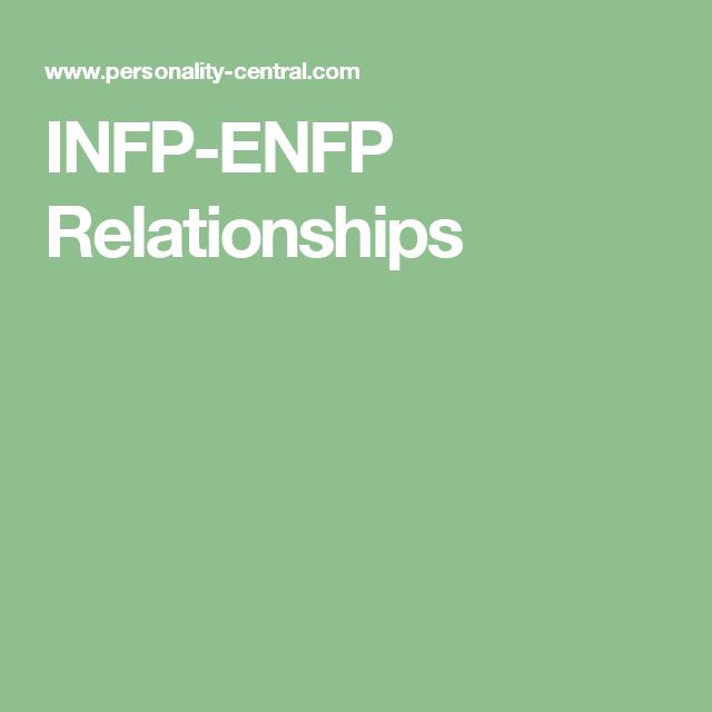 Infp enfp relationships