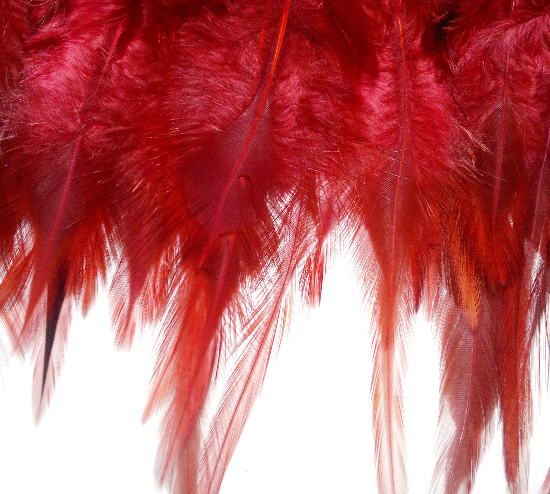 flecos de plumas