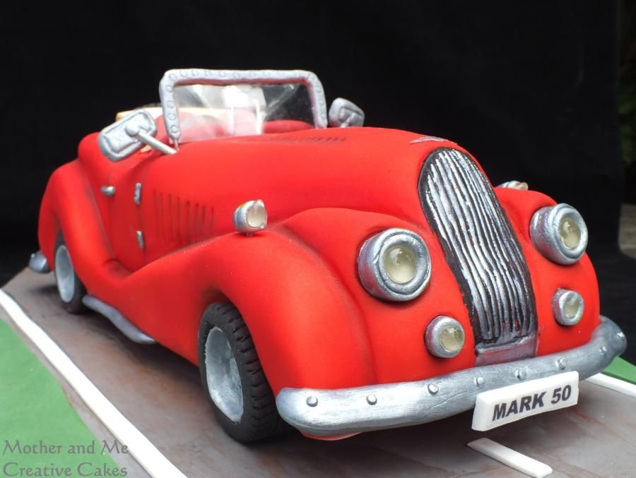 V8 Morgan Car Cake by Mother and Me Creative Cakes Cakes Cake