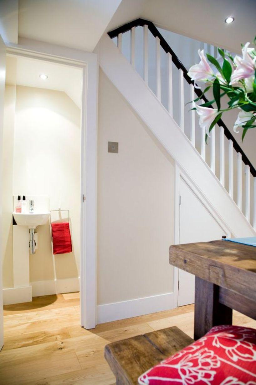 8 Mind-Blowing Under Stair Powder Room Designs To Inspire ...