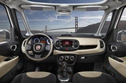 2014 Fiat 500l Phenomenal Front Facing Visibility Fiat 500l