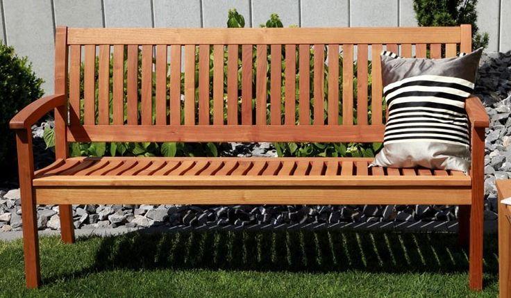 holzbank massiv ottawa. Black Bedroom Furniture Sets. Home Design Ideas