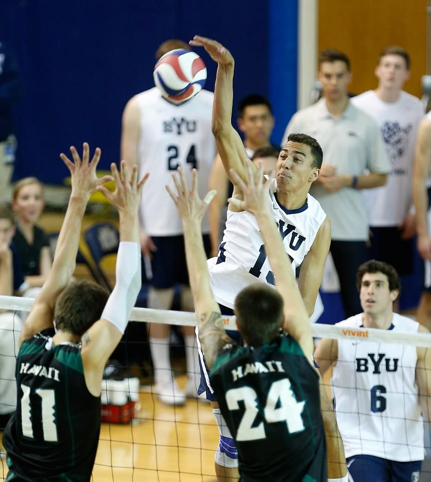 Ben Patch Byu Hawaii Mpsf Tournament Quarterfinals Byu Wins 3 2 Semifinals Against No 4 Seed Ucla On Thursday Apri Mens Volleyball Byu Hawaii Athlete