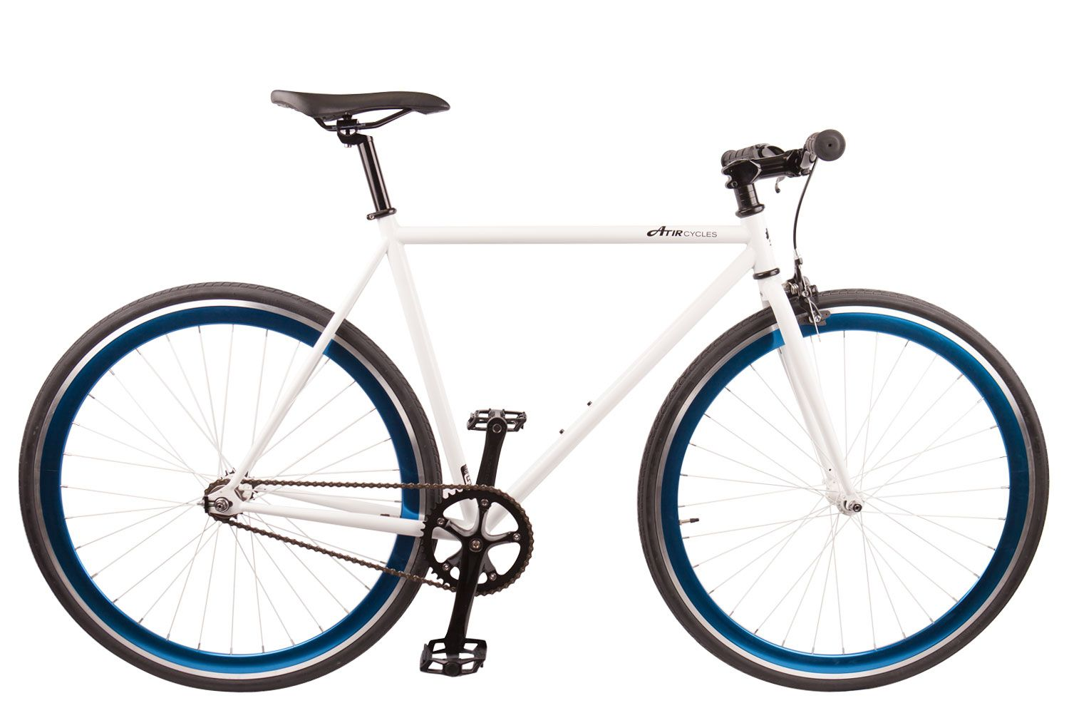Premium Gloss White Single Speed | Fixed gear, Premium and Bikes