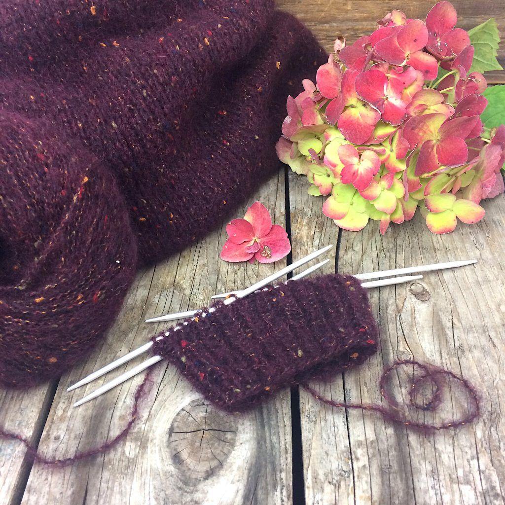 Jacke Peru Tweed von Lana GROSSA Strickanleitung | DIY