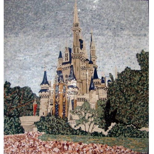 """Amazon.com: 70x72"""" Marble Mosaic Art Tile Wall Mural Disney on sale?? Only $1700!"""