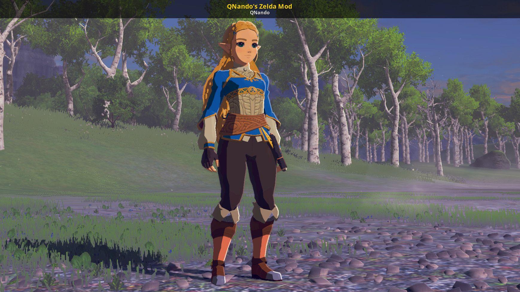 Qnando S Zelda Mod The Legend Of Zelda Breath Of The Wild Wiiu Skin Mods Legend Of Zelda Breath Of The Wild Legend