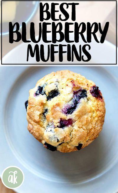 The Best Lemon-Blueberry Muffins | Alexandra's Kit