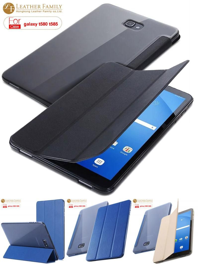 Visit To Buy For Samsung Galaxy Tab A 10 1 T580 T585 T580n Case Slim Flip Pu Leather Smart Cover Case Skin Shell For Samsung Galaxy Tab Case Cover Galaxy Tab