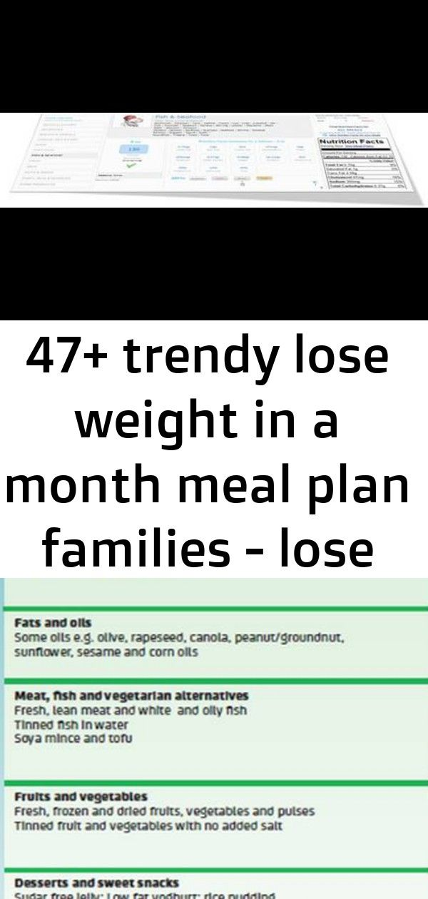 47 trendy lose weight in a month meal plan families  lose weight  weight loss  1 47 trendy lose weight in a month meal plan families  Lose Weight  Weight Loss  A Plan to...