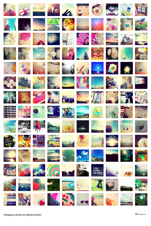 how to create a collage poster with your instagram photos - Picture Collages