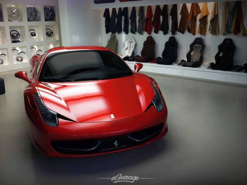 Ferrari via eGarage
