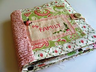 How To Make A Washable Cloth Photo Album Great For Babies And