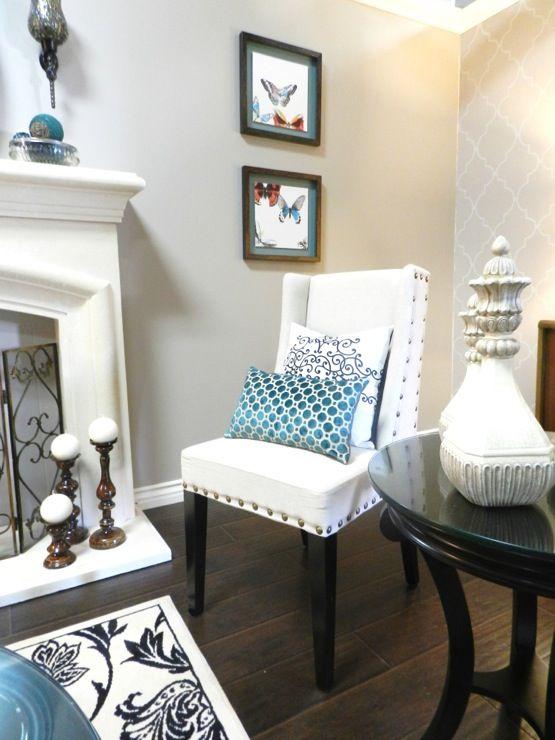 paint color martha stewart sharkey gray | Living room ...