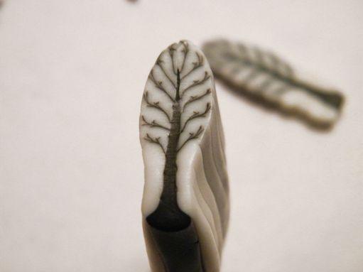 Art Jewelry Elements: Easy Winter Tree Cane Tutorial
