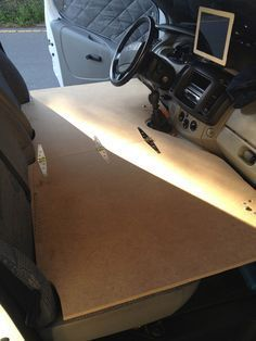 Two Ways To Make The Front Seat Into A Bed Motorhome