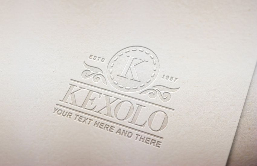 How To Create A Pressed Paper Logo Mockup In Adobe Photoshop Tutorials Display Graphic Design Let Paper Logo Adobe Photoshop Tutorial Photoshop Tutorial Design