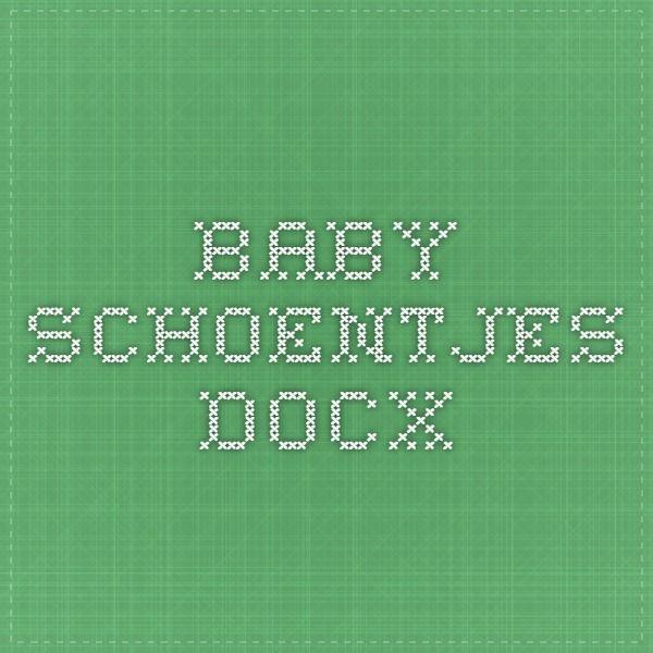 baby schoentjes.docx