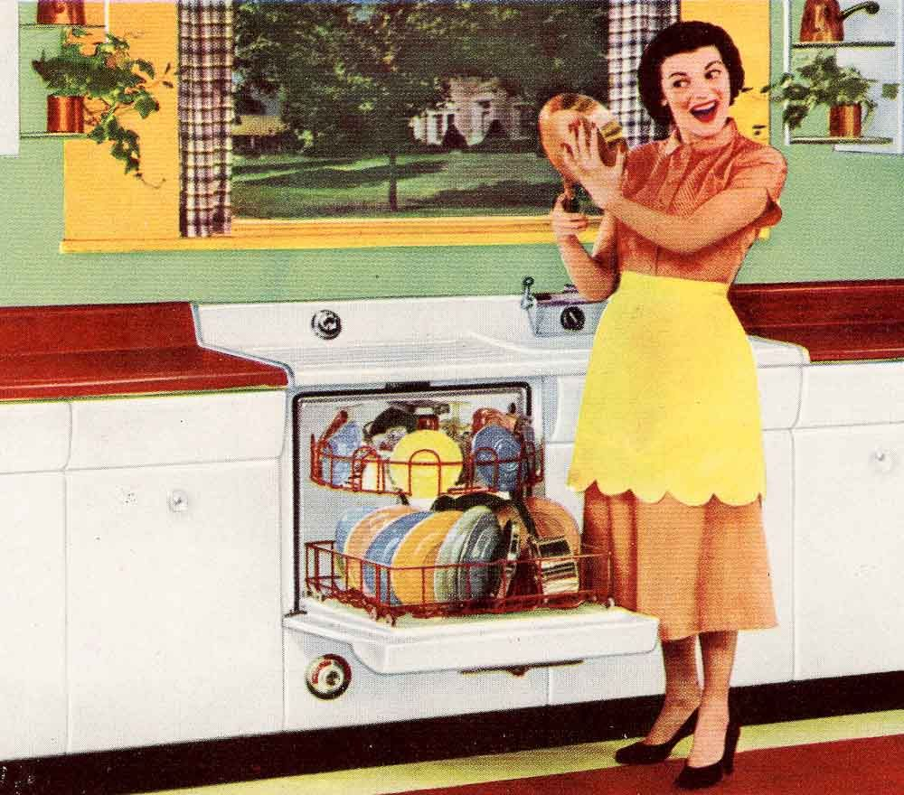 Six Kitchen Designs From 1953 Avco American Kitchens American