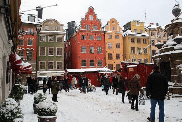 Stockholm Stockholm Christmas Market Scandinavian Christmas