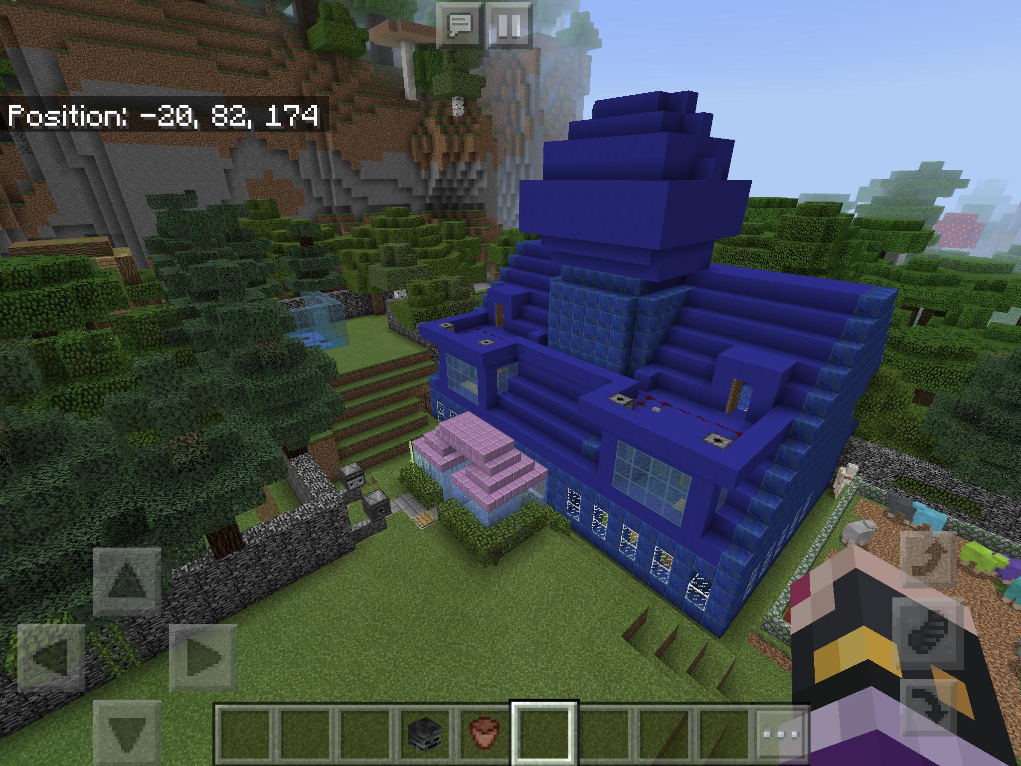 Meine Lapislazulivilla Minecraft Mit Dannylou Pinterest - Minecraft hochhauser