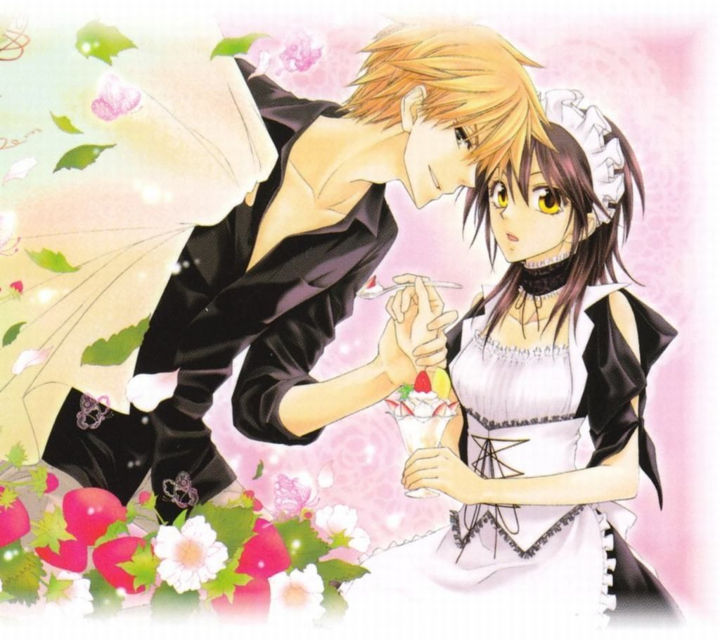 Usui and Misaki Maid sama, Maid, Anime