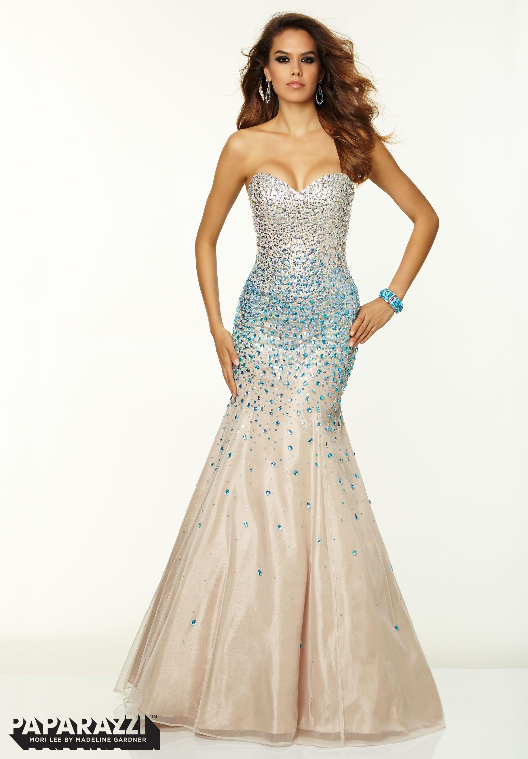 Jeweled Prom Dresses