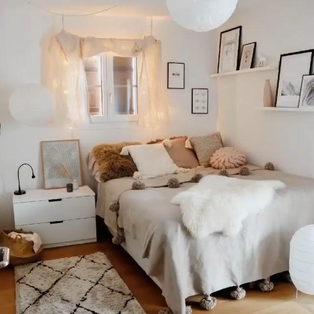 Bohemian Bedroom Decor -   - #bedroom #bohemian #decor #kidsbedcanopy #modernbedmasterbedroom #palle