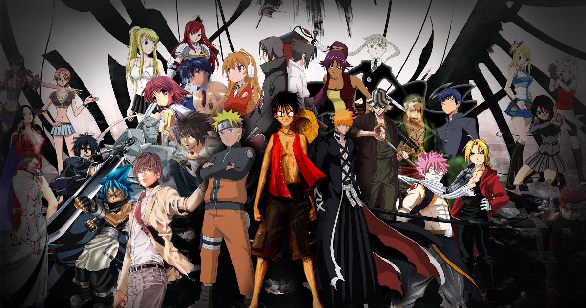 25 All Anime Main Characters Wallpaper 42 All Anime Characters Hd Wallpaper On Wallpapersafari D In 2020 Cool Anime Wallpapers Anime Wallpaper Download Anime Shows