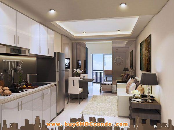 Model Unit Artist S Illustration Condo Interior Design Condominium Interior