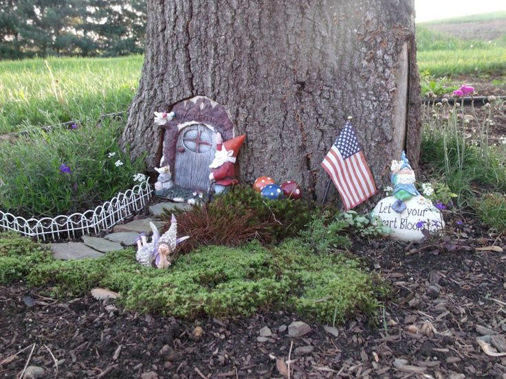 Anne Marie Gardens Fairy Houses | The Beginning Of My Fairy Garden. |  Gnome/Fairy Gardens