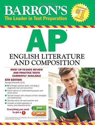 Barrons ap english literature and composition 6th edition barrons ap english literature and composition 6th edition barrons ap english literature composition fandeluxe Gallery
