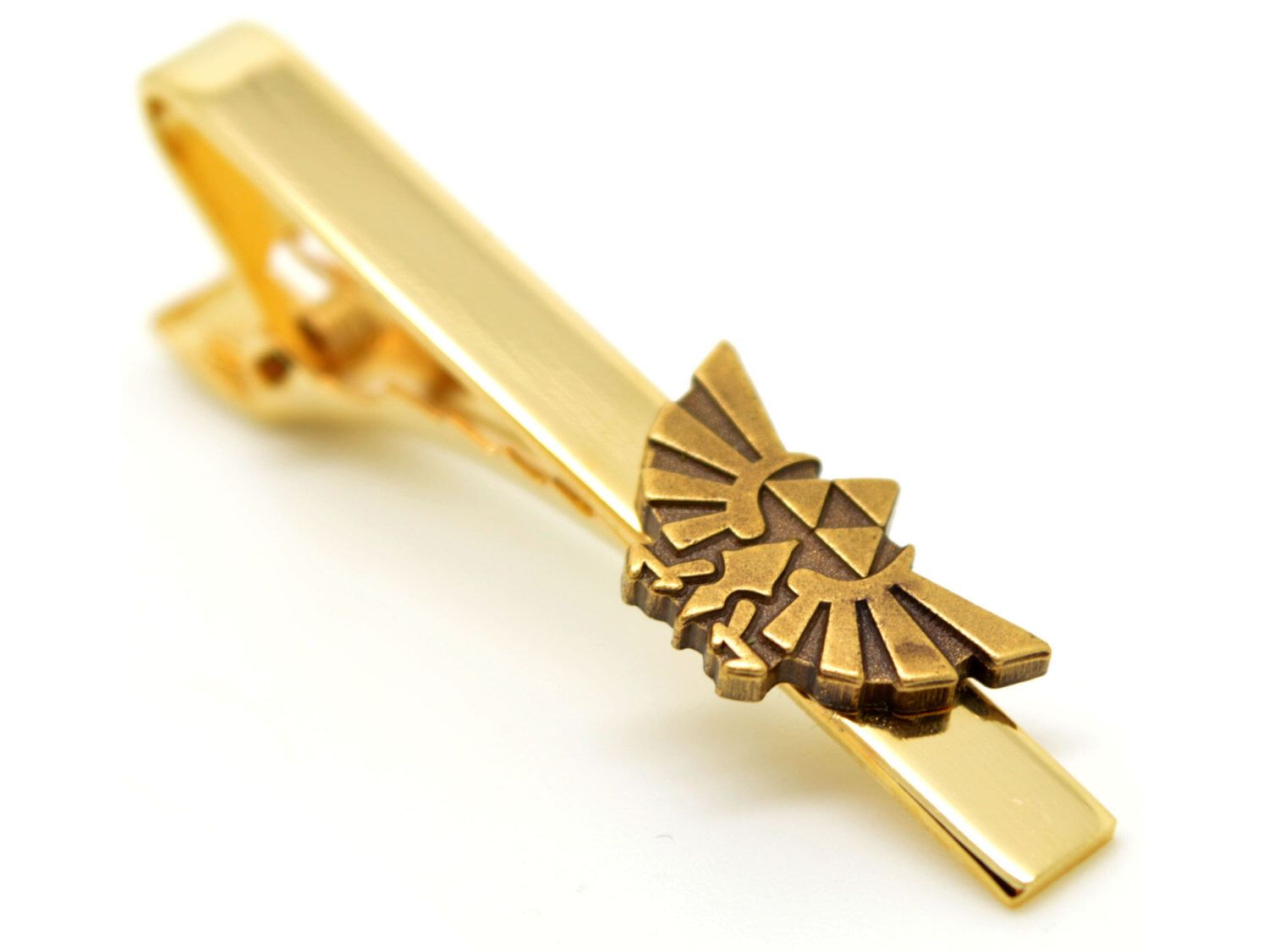 Legend of Zelda Hyrule Royal Crest Triforce Inspired Tie Clip by ...