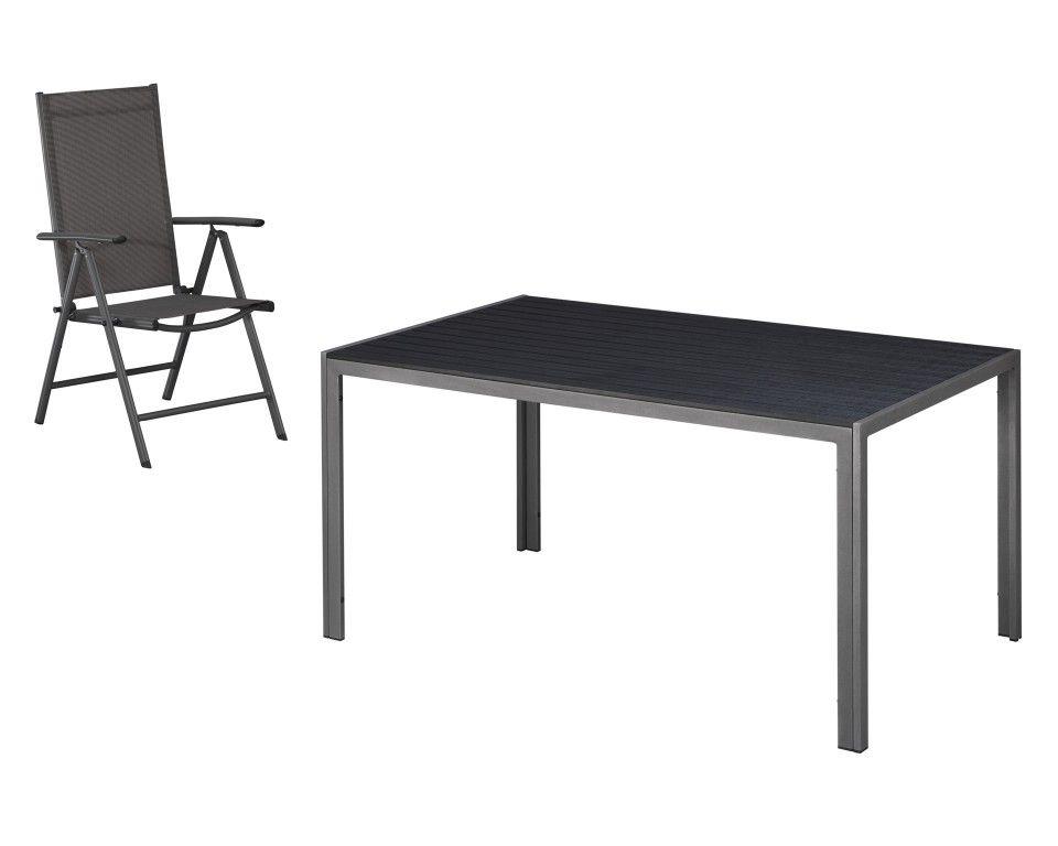 Gartenset »Chicago/Mexico« (Tisch + 4 Stühle) - Gartenmöbel-Sets ...