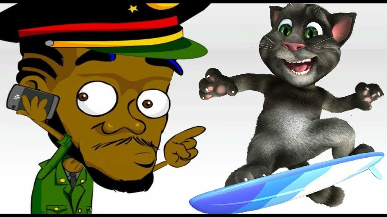 My Talking Tom TOM flew to Jamaica Fun Video Games for