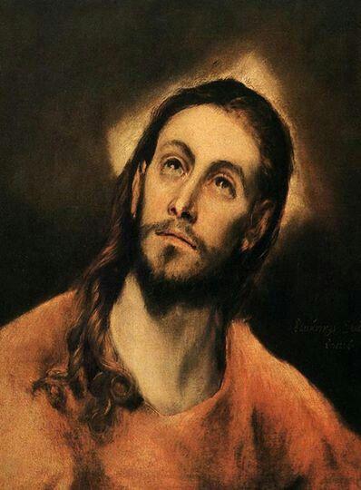 El Greco. Budto de Cristo.