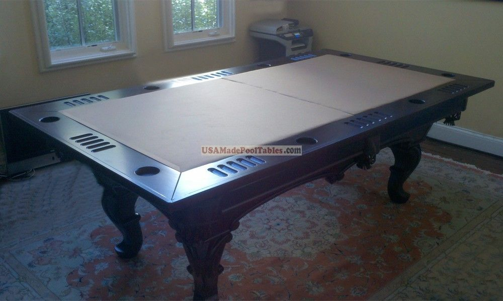 Poker And Dining Table Cover For Pool Table Modern Pool Table